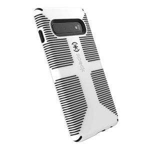 SPECK CandyShell Grip Case WHITE/BLACK Galaxy S10
